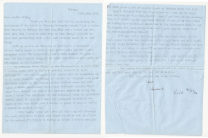 Letter sent from Sister Caswell to her Aunt Edith from Jigiga 21st July 1974